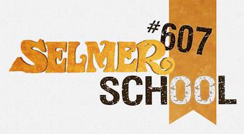 logo selmer 607 school école de jazz manouche