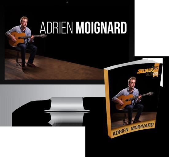 Cours de guitare avec Adrien Moignard