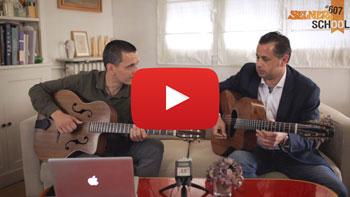 vignette cours de guitare jazz avec Noé Reinhardt